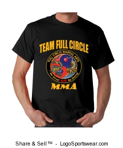 Combat Hapkido T-Shirt Yellow Design Zoom